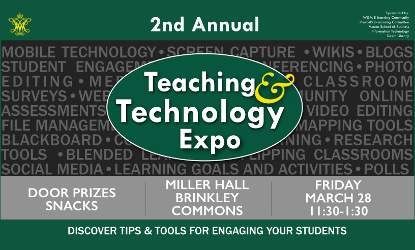 W&M Teaching & Technology Expo